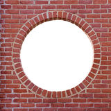 Brick wall frame Stock Photography