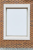 Brick wall frame Royalty Free Stock Images