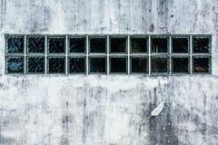 Brick wall with glass blocks Royalty Free Stock Image