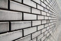 Brick wall in gray Stock Photo