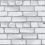Brick wall. gray. Vector. Grey brick wall. Background. Vector Royalty Free Stock Photography