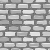 Brick wall grey, sketch for your design Royalty Free Stock Photos
