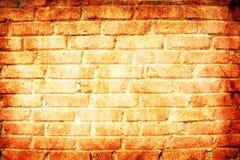 Brick wall grunge background Stock Photography