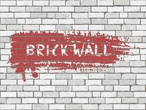 Brick wall grunge texture Stock Photography