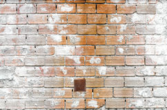 Brick Wall High Contrast Stock Images