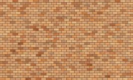 Brick wall high resolution seamless texture. High resolution seamless texture of a brick wall. The image can be tiled vertically and horizontally and has perfect Stock Photography