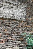 Brick Wall on Historical Building Royalty Free Stock Photos
