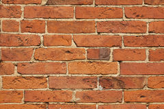 Brick wall horizontal texture Stock Image