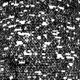 Brick wall of the house, with lines  laying Stock Images