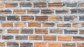 Brick wall house Stock Image