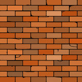 Brick wall  illustration Royalty Free Stock Images