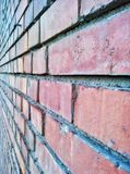 Brick wall. Image of a brick wall Royalty Free Stock Photography