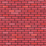 Brick Wall Indicates Blank Space And Background Stock Photo