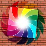 Brick Wall Indicates Brick-Wall Spectrum And Masonry Royalty Free Stock Photos