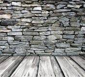 Brick wall interior Stock Images