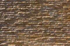 Brick wall interior decoration wallpaper Stock Photography