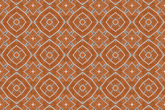 Brick wall kaleidoscopic pattern Royalty Free Stock Photography