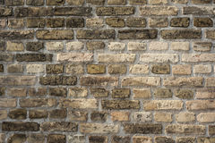 Brick wall. Wall made of bricks and Royalty Free Stock Photo