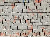 Messy brick wall stock photos