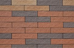 Brick wall. New clean brick wall texture Stock Image