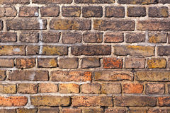 Brick Wall Of An Old House Royalty Free Stock Photography