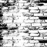 Brick Wall Of The House, With Lines Of A Laying Of Stock Images