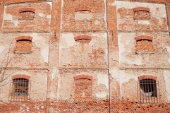 Brick wall of old building Stock Photography
