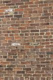Brick wall from old brick royalty free stock photo