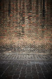 Brick wall old Stock Photos