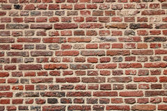 Brick wall old Stock Images