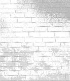 Brick wall old-fashioned background Royalty Free Stock Image