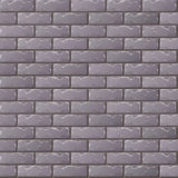 Brick Wall. Old Gray Brick Wall Seamless Pattern for Continuous Replicate Royalty Free Stock Photography