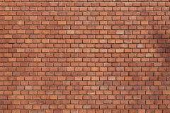 Brick wall. Of an old house Stock Photo