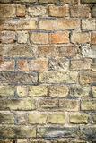 Brick wall. Royalty Free Stock Photo