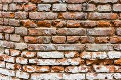 Brick Wall. Old brick wall in Prague Stock Image