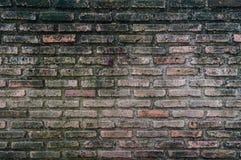 Brick wall. Old brick wall are very dirty Royalty Free Stock Photo