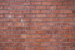 Brick wall. An old worn brick wall Royalty Free Stock Photo