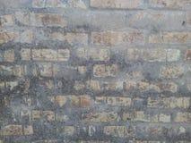 Brick wall. Old yellow brick wall photography Stock Photography