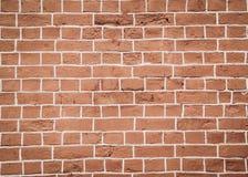 Brick wall, orange Royalty Free Stock Photos