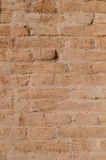 Brick Wall. Painted red brick wall, detail Royalty Free Stock Photos