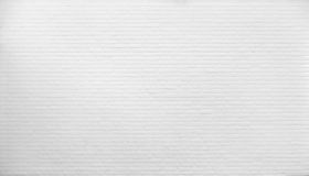 Brick wall painted with white paint. Royalty Free Stock Images