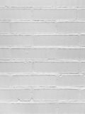 Brick wall painted with a white paint Royalty Free Stock Photography