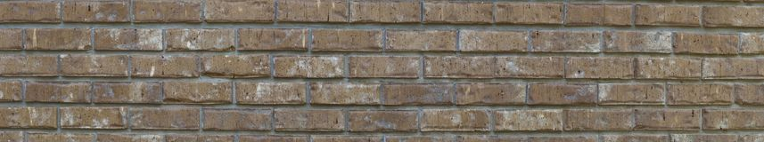 Brick wall panorama Stock Image