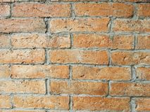 The brick wall. Brick wall pattern Stock Image