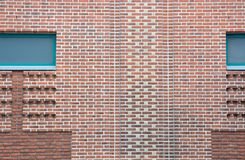 Brick wall with pattern Stock Image
