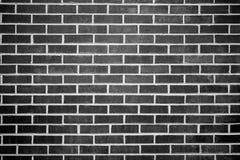 Brick wall. Pattern of beautiful black and white  brick wall Stock Images