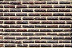 Brick wall pattern : Korea style Stock Photo