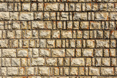 Brick wall pattern : Korea style Royalty Free Stock Images