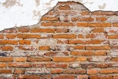 Brick wall. Pattern of old brick wall background royalty free stock photo