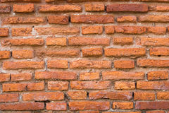 Brick wall. Pattern of old brick wall background stock image